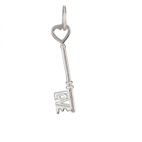 Original Sterling Silver Love is the Key® Charm